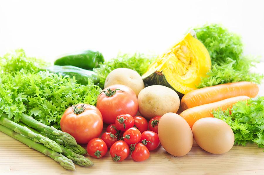 地元の新鮮野菜